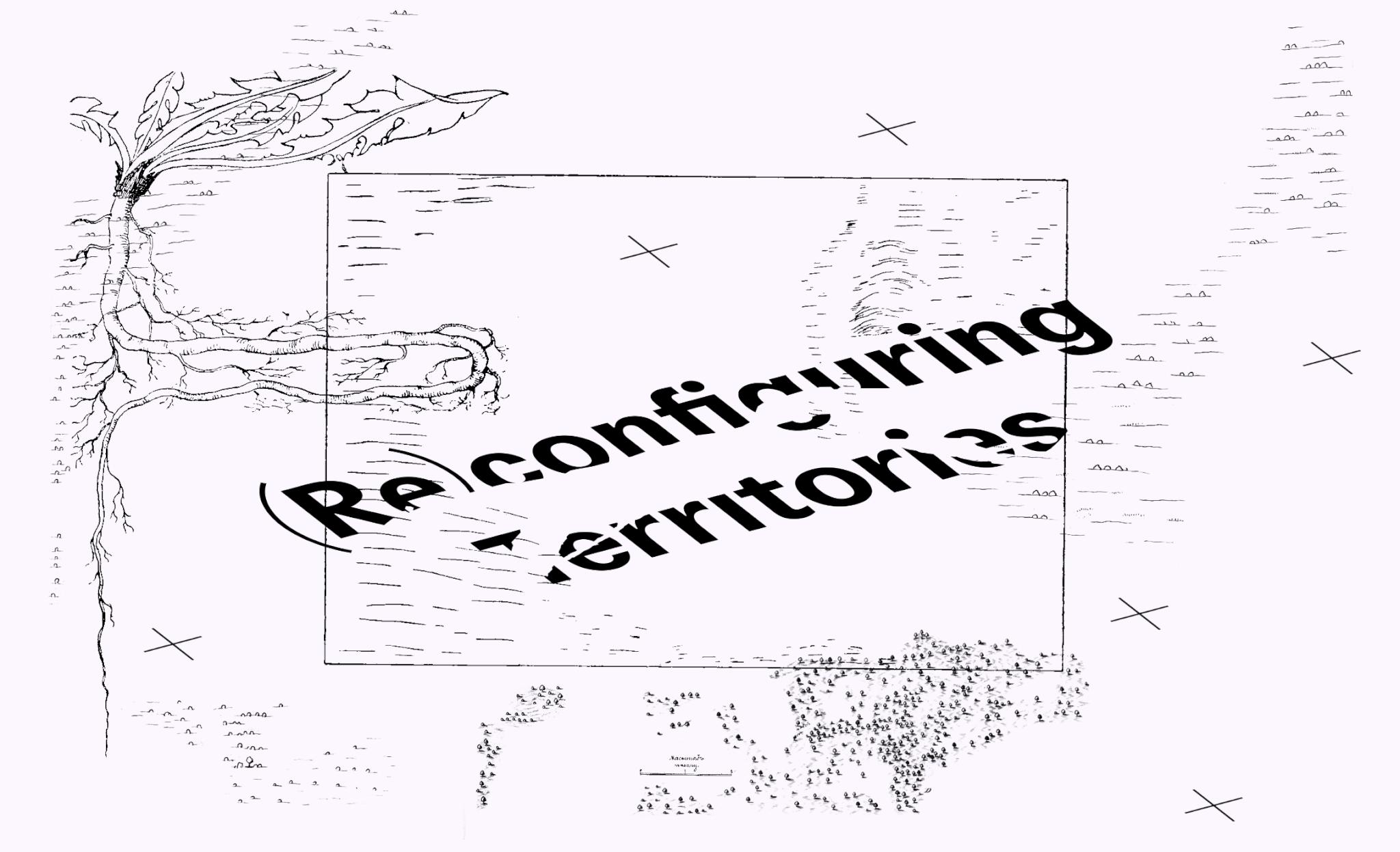 Reconfiguring Territories tutkimusohjelman kansikuva